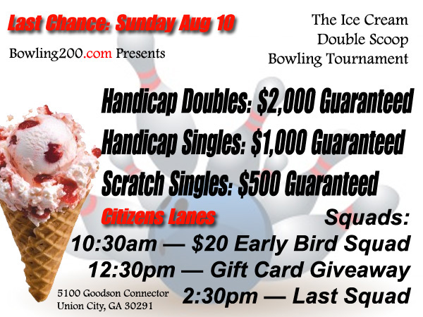 ice cream tournament